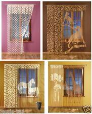Gardinen Vorhänge,Fadengardine,Kindergardinen Schal Gardine Vorhang