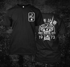 Jeet kune do Hans tournament inspired enter the dragon- Custom Men's T-Shirt Tee