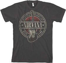 AUTHENTIC NIRVANA EST 1988 GUITAR STAMP ROCK MUSIC KURT COBAIN T SHIRT S-2XL