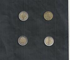 2 €/50 C speciali monete Belgio 2011 - 2014, per la selezione, Banca freschi, timbro lucentezza