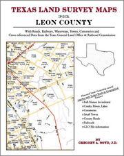 Leon County Texas Land Survey Maps Genealogy History