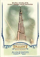 2012 Topps Allen and Ginter World's Tallest Buildings Baseball Card Pick