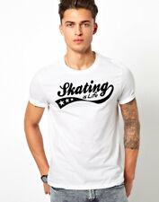 Skater T-shirt skate skateboard magazine Indie THRASH COOL Regalo Unisex Tee Top T