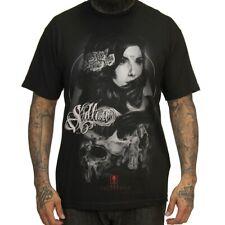 Sullen Art Collective Clothing T-Shirt Schwarz - Forgotten Schädel Skull Tattoo