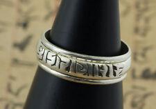 Bague tibétaine avec anneau tournant OM mANI pADME hUM Tibet- 9090 -J51