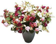 SHANS Silk Flower Artificial Home Wedding Decor Bridal Bouquet
