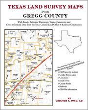 Gregg County Texas Land Survey Maps Genealogy History
