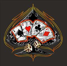 *1130 T-Shirt Biker Skull Gothic Tattoo Totenkopf Rockabilly Design