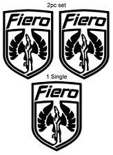 Pontiac Fiero Pegasus Shield Vinyl Decal Sticker/s **FREE SHIPPING** 19 Colors