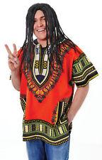 #reggae Man Parrucca FANCY DRESS ADULT