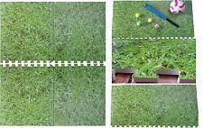 Eva Interlocking Foam Mat Grass Look Nursery Play Mat Home Flooring Tiles Carpet