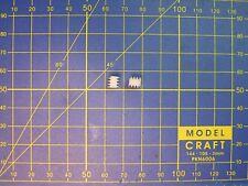 2 Vis sans fin dia. 6 x L6 mm axe 1 mm ou 1,5 mm - M0,5 - MOTEUR LOCOMOTIVE HO.