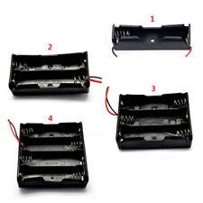 1/2/3/4 x Batería De 3.7V Holder /Snap Sobre Conector/Caja Cerrada /Interruptor