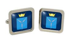 Saratov Oblast (Russia) Square Cufflink in Chrome Box