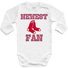 Baby bodysuit Newest fan Boston Red Sox, MLB baseball One Piece jersey Shower