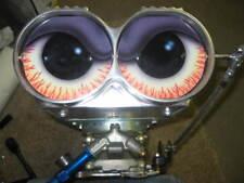 NEW SHOTGUN AIR CLEANER SCOOP VINYL STICKER EYES GLOSSY Hot Rod Rat Eyeballs