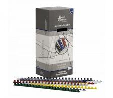 ProfiOffice Plastikbinderücken 6 mm - 51 mm Kunststoff Binderücken Bindegerät