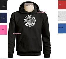 Firefighter Sweatshirt Fire Department Logo Hoodie  SIZES S-3XL