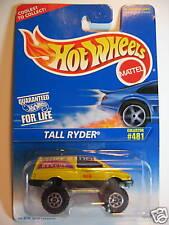 HOT WHEELS #481 TALL RYDER MET.DARK YELLOW