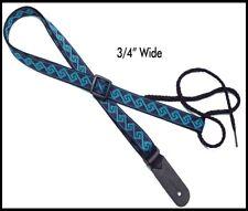 """3/4"""" Legacystraps Mandolin Strap Ukulele Strap Tumbleweed pattern 3/4"""""""