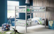 Julian Bowen Camden Bunk Bed - Stunning Dove Grey Children's Bed 3 ft single