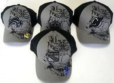 NHL Reebok Hockey Goalie Mask Shadow Black Gray Cap Hat NEW!