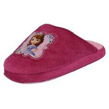 Filles Disney Princesse Sofia, le Premier à Enfiler Textile Pantoufles WDR8166