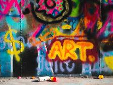 CANVAS 'Graffiti ART' Glam Street Photography Gallery Wrap Art by Sonja Quintero