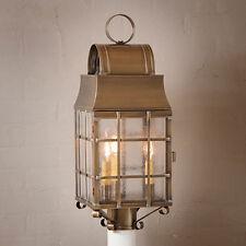 Irvin's Tinware Washington Post Lantern - Primitive Country Outdoor Light - New