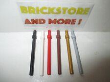 Lego - Bar Baton Barreau 6L Stop Ring 63965 - Choose Color & Quantity
