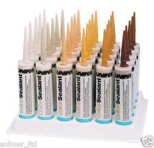 Unika ColorSealant 310ml Acrylic Gap Filler Mastic. Wood Colours. Waterproof