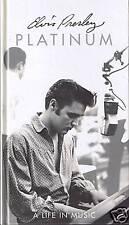 Presley, Elvis Platinum a Life in Music 4 CD Longbox Ra