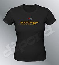 Tee shirt personnalise YZF R1 Crossplane S M L XL femme moto