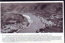 1955  --  LES ROCHES ET CONDRIEU  VUE AERIENNE   R715