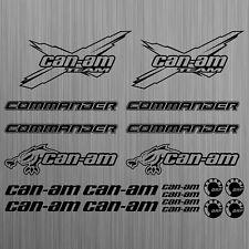 can-am canam team BRP commander sticker quad ATV 20 Pieces