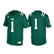 Ohio Bobcats NCAA Adidas Men's Green #1 Official Football Replica Jersey