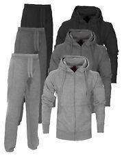 New Men's Foundation Fleece Hooded Sports Jogging full Tracksuit Top & Bottom