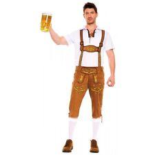 German Lederhosen Costume Adult Bavarian Oktoberfest