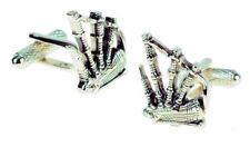 Scottish Bagpipes Cufflinks NEW in BOX 14686