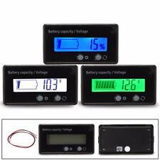 12-48V LCD Indicator Car Battery Capacity Voltage Tester Lead-acid Monitor Kit