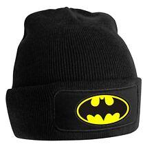 Batman and Superman Printed Beanie - Unisex Woolly Beanie hat - Winter Hat