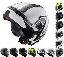 LS2 FF325 Flip Front Motorcycle Motorbike Twin Shield System Helmet