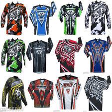 Wulfsport Motocross Enduro Jersey Shirt Mx Mtb Cr Crf Yz Yzf Exc Xcf Kx Kdx Rm