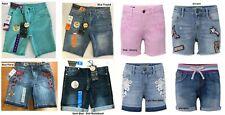 Girls Vigoss Bermuda Malibu Stretch Denim Shorts Short, Pick Color & Size, NWT