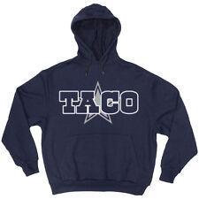 "Taco Charlton Dallas Cowboys ""LOGO"" jersey shirt Hooded SWEATSHIRT HOODIE"
