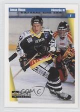 1997-98 Upper Deck Collector's Choice Swedish 190 Johan Molin Rookie Hockey Card