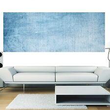 Papier peint panoramique fond bleu jean 3639 Art déco Stickers