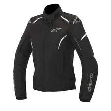 Alpinestars Stella ladies/women Textile Gunner MotorBike jacket Black/White