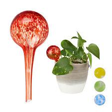 waterdruppelaar 2 stuks - glas - waterbollen voor planten - Ø6cm - gekleurd