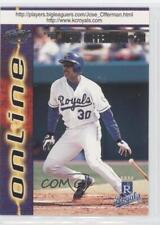 1998 Pacific Online #346 Jose Offerman Kansas City Royals Baseball Card
